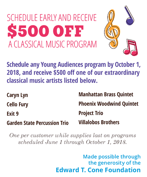 Classical music discount ad